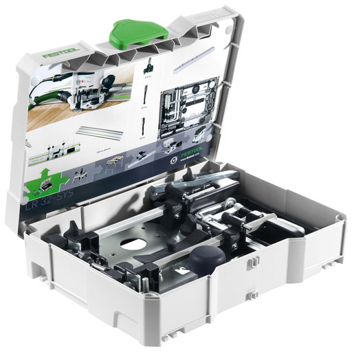 View a Larger Image of Festool LR 32 Hole Drilling Set In systainer