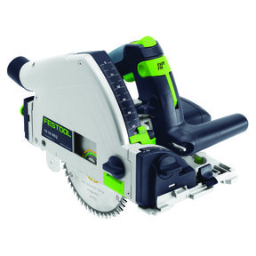 Festool Model TS 55 REQ Plunge Cut Saw with T-LOC and Rail