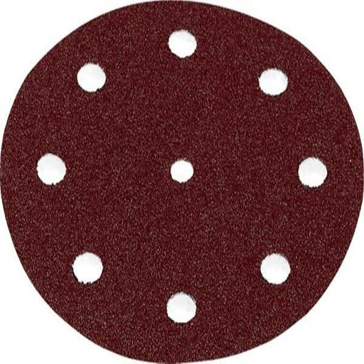 "View a Larger Image of Rubin 2 Sandpaper, H&L, 6"" dia., 120 Grit, 50 per pack"