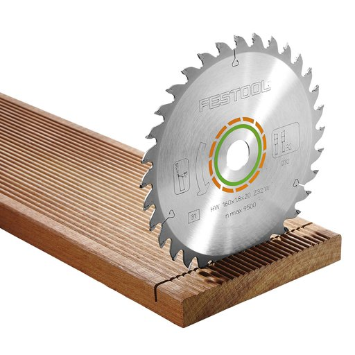 View a Larger Image of Saw Blade Fine Tooth 32 T, HK & HKC