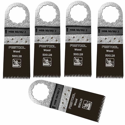 View a Larger Image of Festool Saw Blade Vecturo HSB 50/35/J 5 Pack