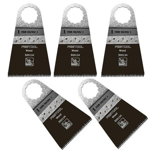 View a Larger Image of Festool Saw Blade Vecturo HSB 50 / 55 / J, 5 pk