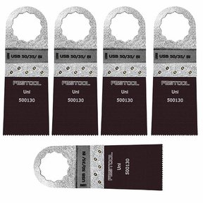Saw Blade Vecturo USB 50/35/Bi, 5pk