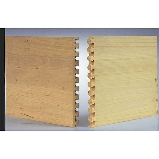 View a Larger Image of Size 14 Half-Blind Dovetail Template