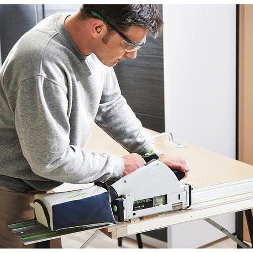 View a Larger Image of TSC 55 REB - FS Cordless Track Saw with Rail