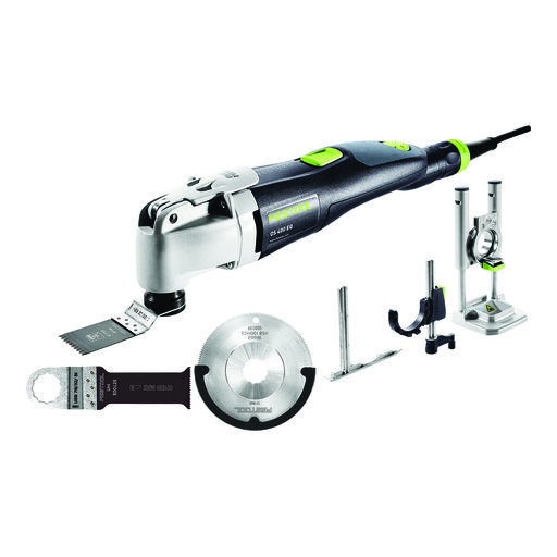 View a Larger Image of Festool Vecturo OS 400 Multi-Tool Set
