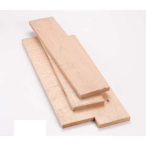 View a Larger Image of Figured Maple 10 Board Foot Lumber Pack