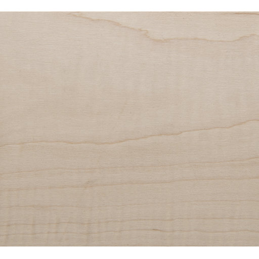 View a Larger Image of Figured Maple, Flat Cut 4'X8' Veneer Sheet, 10MIL Paper Backed