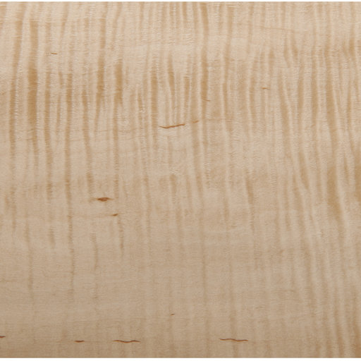 View a Larger Image of Figured Maple, Heavy Curl 4'X8' Veneer Sheet, 10MIL Paper Backed