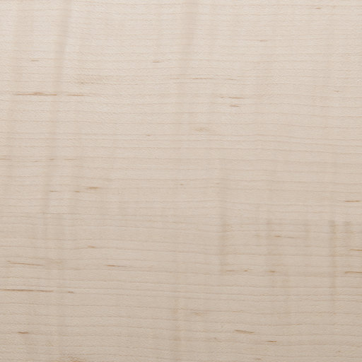 View a Larger Image of Figured Maple, Quartersawn 4'X8' Veneer Sheet, 10MIL Paper Backed