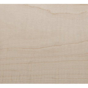 Figured Maple Veneer Sheet Plain Sliced 4' x 8' 2-Ply Wood on Wood