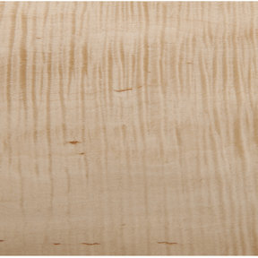 Figured Maple Veneer Sheet Rotary Cut Heavy Curl 4' x 8' 2-Ply Wood on Wood