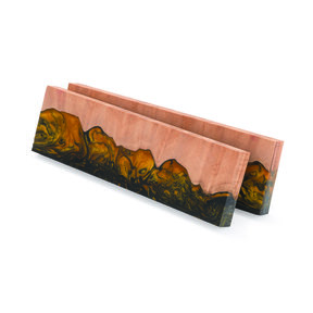 "Fiji 3/8"" x 1-1/2"" x 5"" Knife Scale, Jasper 2-piece"