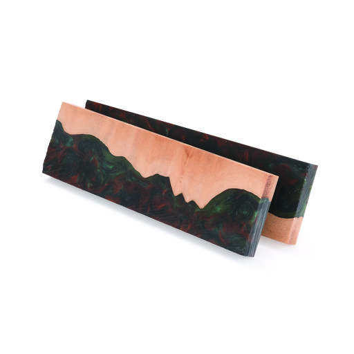 "View a Larger Image of Fiji 3/8"" x 1-1/2"" x 5"" Knife Scale, Onyx 2-piece"