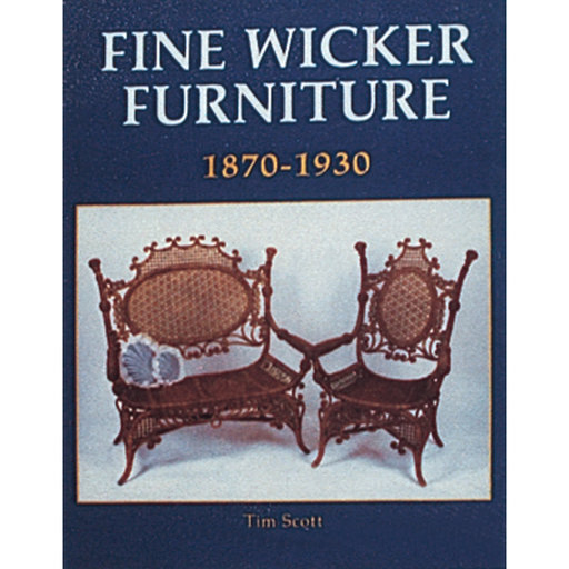 View a Larger Image of Fine Wicker Furniture: 1870-1930