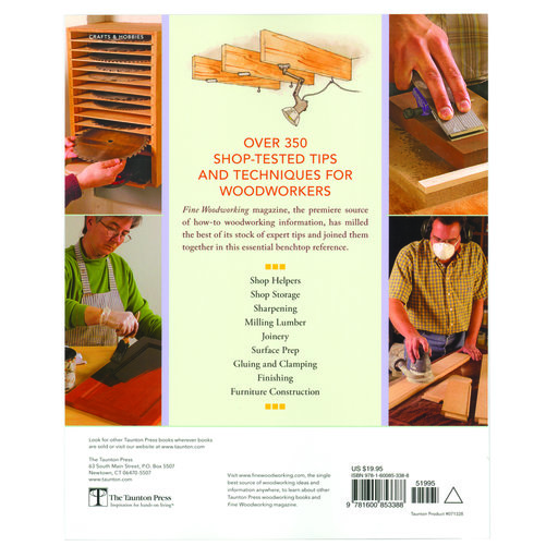 View a Larger Image of Best Tips on Finishing, Sharpening, Gluing, Storage & More