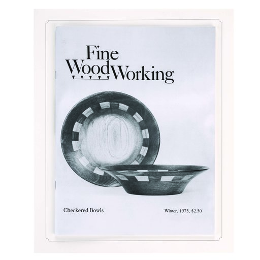 View a Larger Image of Fine Woodworking Commemorative Issue One