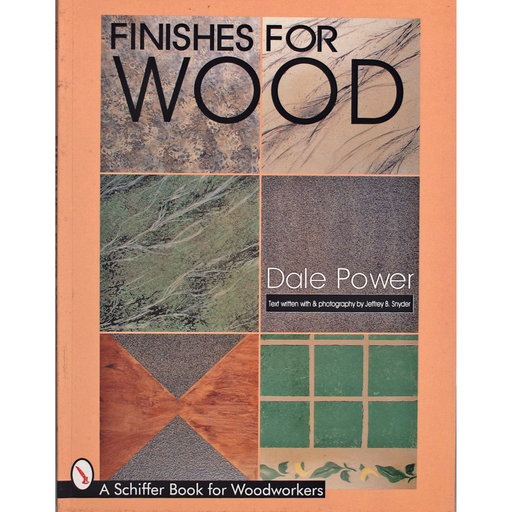 View a Larger Image of Finishes for Wood