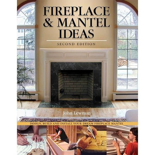 View a Larger Image of Fireplace & Mantel Ideas, 2nd edition