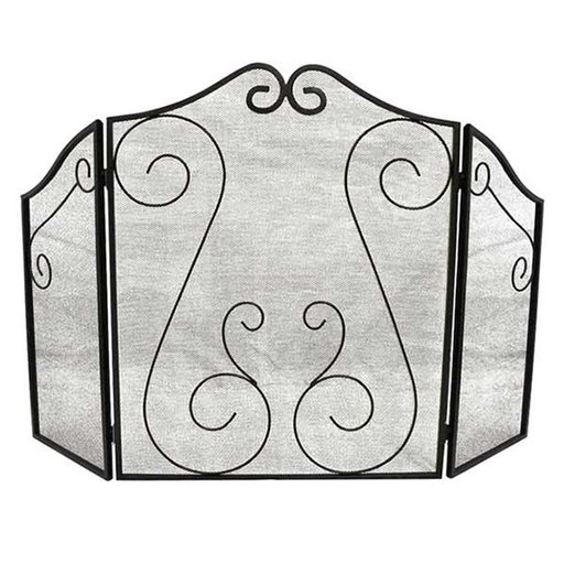 View a Larger Image of Fireplace Scrollwork Screen