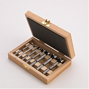 7 Piece Universal Speedcutter Set in Wooden Box, Cylindrical Shank