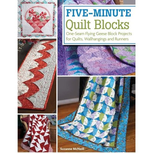 View a Larger Image of Five-Minute Quilt Blocks