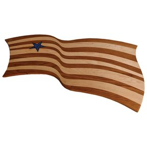 Flag Cutting Board Downloadable Plan