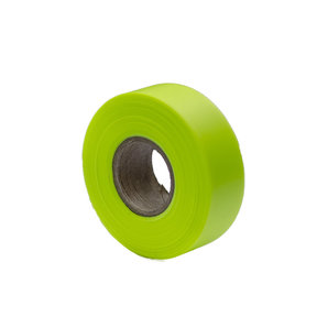 "Flagging Tape Glo Lime 150' X 1-3/16"" Pack of 12"