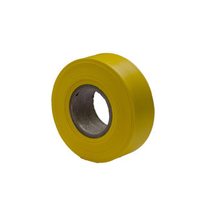 "Flagging Tape Yellow 300' X 1-3/16"" Pack of 12"