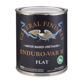 Flat Enduro Var II Varnish Water-Based Quart