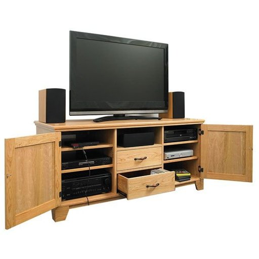 View a Larger Image of Flat Panel TV Entertainment Center - Downloadable Plan