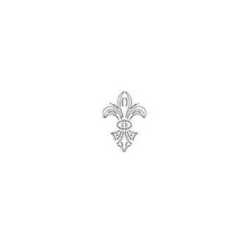 View a Larger Image of FLEUR-DE-LYS TEMPLATE  - CMT Part: RCS-805