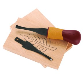 Beginner 2-Blade Craft Carver Palm Tool Set