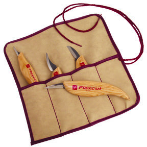 Carving Tool Set, 4 piece