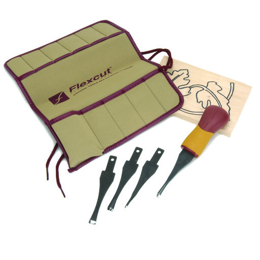 View a Larger Image of Craft Carver Tool Set, 5 piece