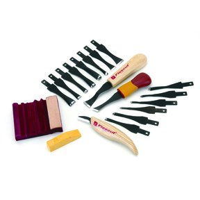 Starter Carving Set With FREE Relief Carving DVD