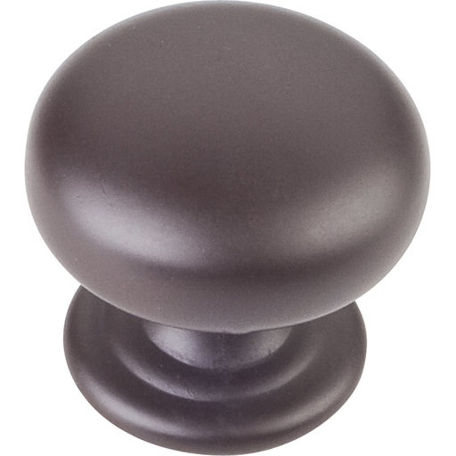 "View a Larger Image of Florence Knob, 1-1/4"" Dia.,  Dark Bronze"