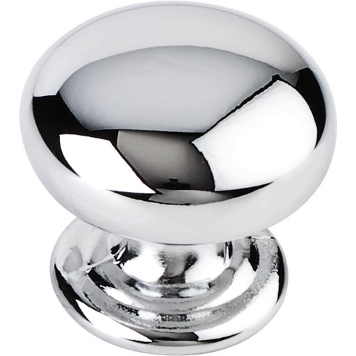 """View a Larger Image of Florence Knob, 1-1/4"""" Dia.,  Polished Chrome"""