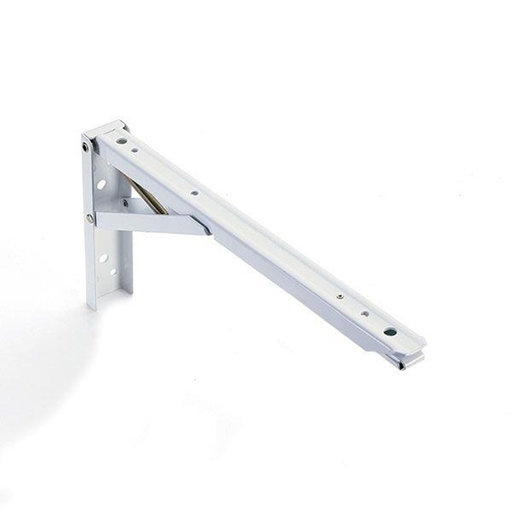 "View a Larger Image of Folding Shelf Bracket 12"", Pair"
