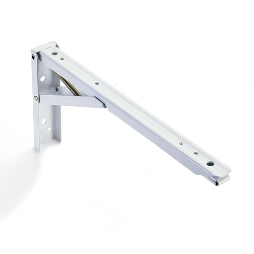 "View a Larger Image of Folding Shelf Bracket 8"", Pair"