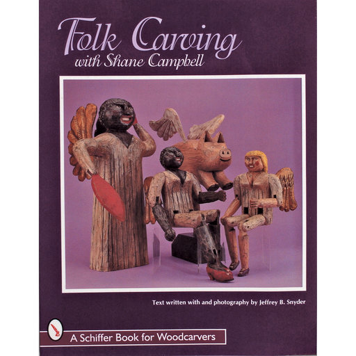 View a Larger Image of Folk Carving with Shane Campbell