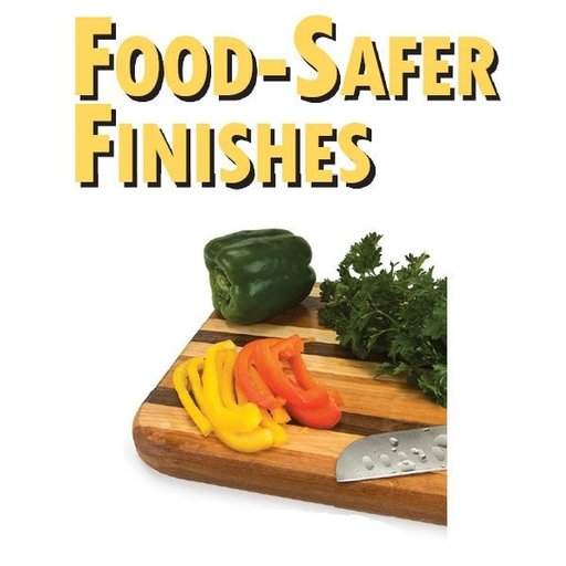 View a Larger Image of Food Safer Finishes - Downloable Technique