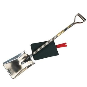 Forged Stainless Steel Square Head Shovel 105cm w/cover