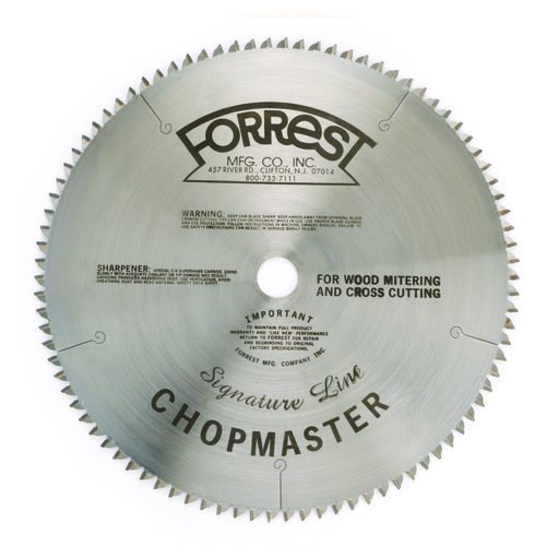 "View a Larger Image of Chopmaster Signature Line Circular Saw Blade 12"" x 90 Tooth"