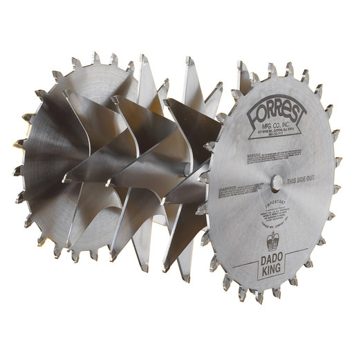 "View a Larger Image of Circular Saw 10"" Dado King Set, 1"" Bore"