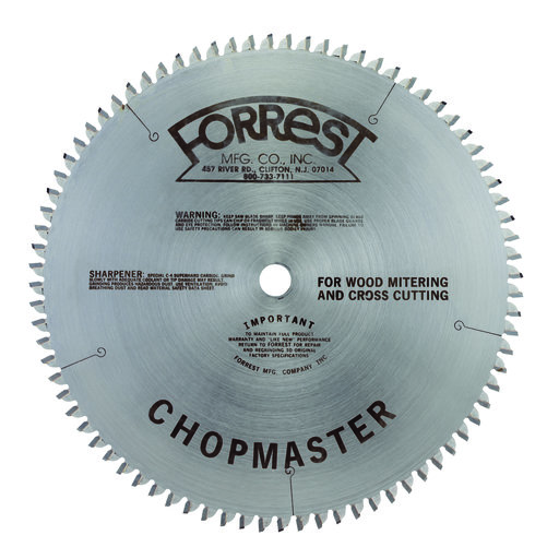 "View a Larger Image of CM10806105 Chopmaster Circular Saw Blade 10"" x 80 Tooth"