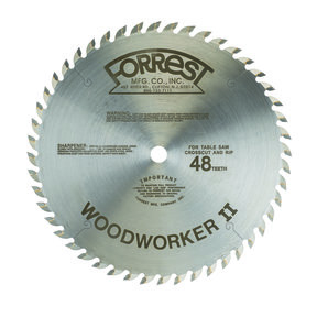 "Woodworker II Saw Blade 10"" x 48 Tooth"