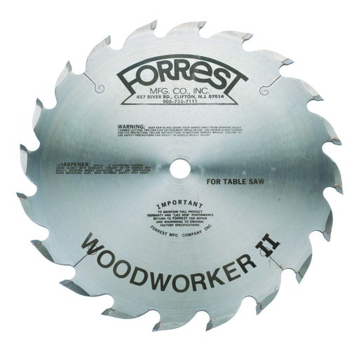 "View a Larger Image of WW10206100 Woodworker II 10"" 20T Rip Blade Thin Kerf"