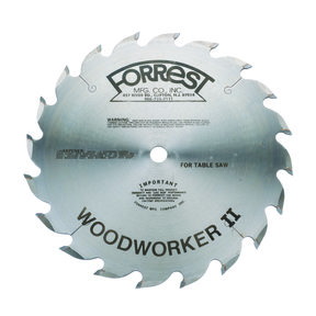 "WW10206125 Woodworker II Rip Blade Alt Top Raker 10"" x 20 Tooth ATB .125"""