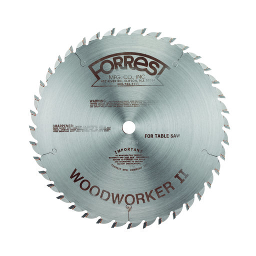"View a Larger Image of WW10307125 Woodworker II Carbide Tipped Circular Saw Blade 10"" x 30 Tooth"